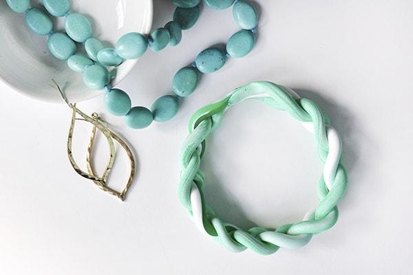 Clay Braided Bracelet