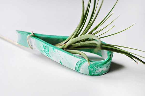 Clay Plant Holder
