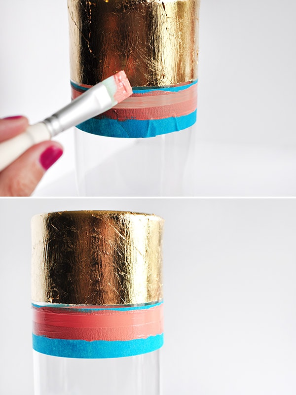 Gold Foil Vase steps 2