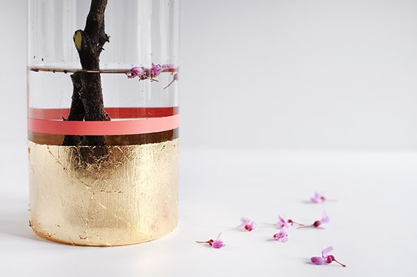 Gold Vase flower