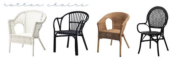 Ikea Summer Wish List-rattan chairs