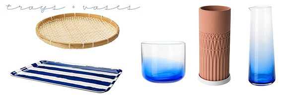 Ikea Summer Wish List-trays-vases