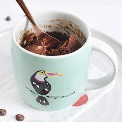 1 Chocolate Cake Mug