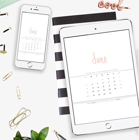 1 June 2016 Digital Calendar