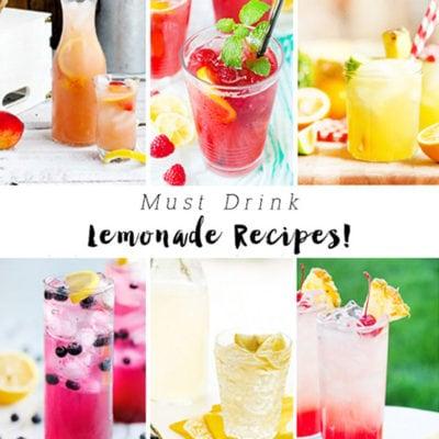 1 Must Drink Lemonade Recipes