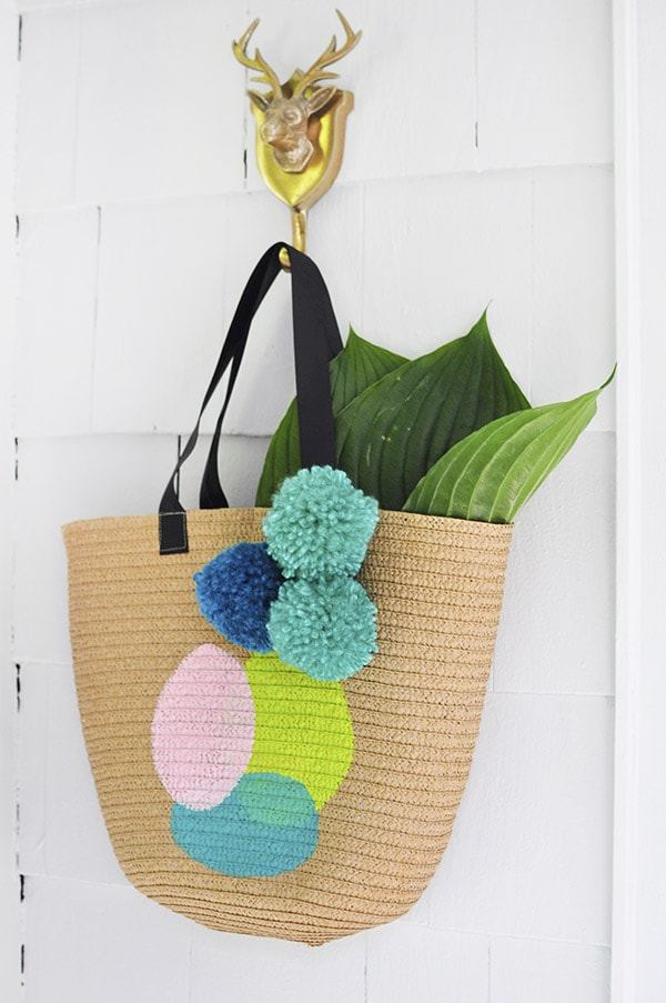 DIY Circle Summer Tote