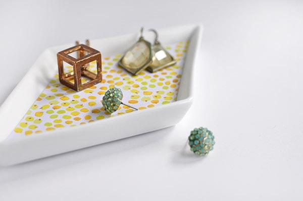 Diamond Jewelry Dish