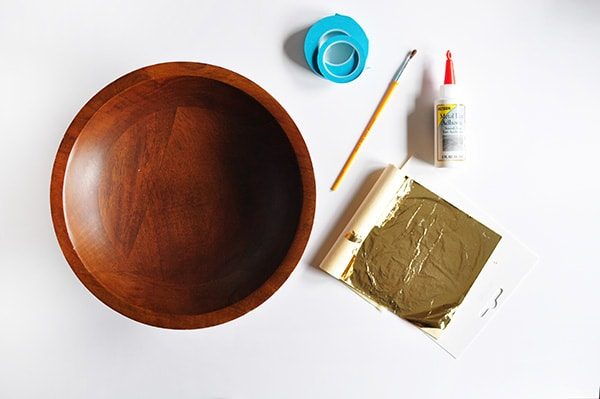 Gold Foil Bowl Supplies
