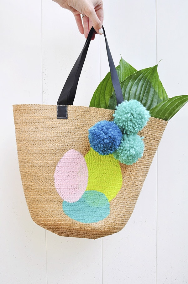 Painted Summer Tote