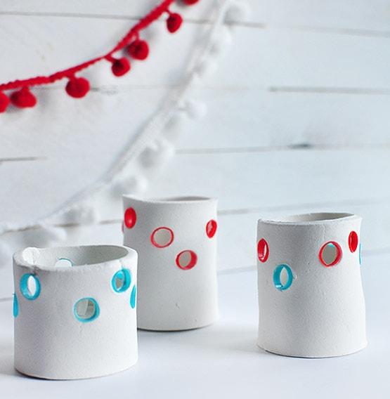 1 DIY Fourth of July Tea Light Holder