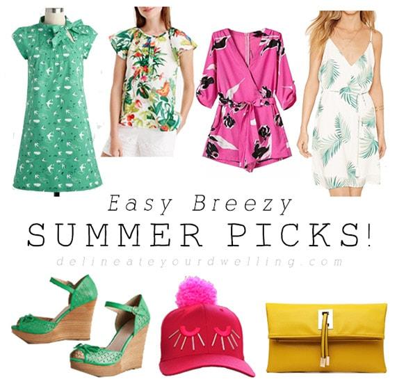 Easy Breezy Summer Picks!