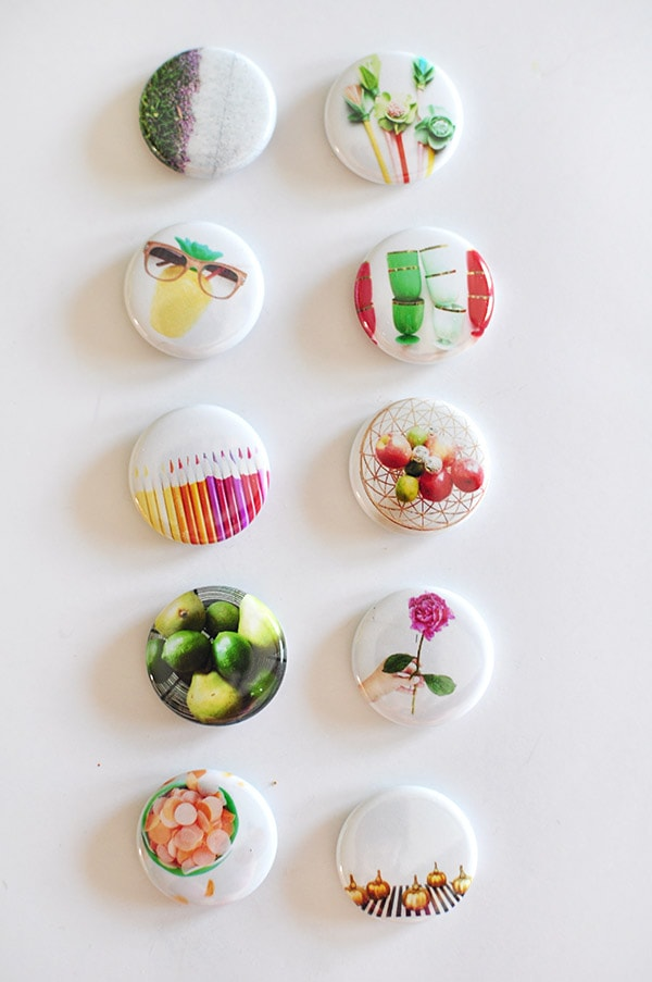 DIY Button Display
