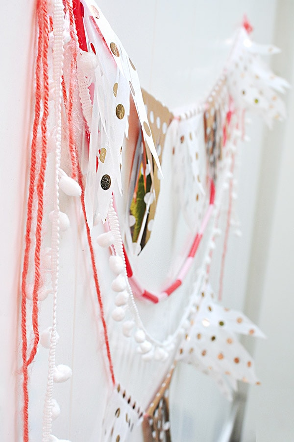 Create a DIY Fringed Tissue Paper Banner