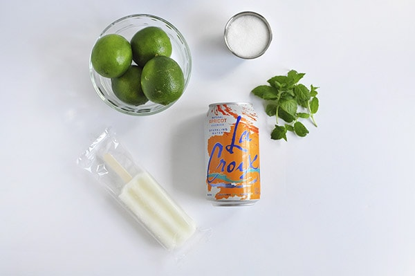 Lime Mint Freeze Supplies