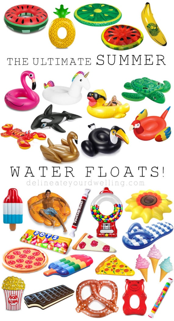 Ultimate Summer Water Float roundup, Delineate Your Dwelling