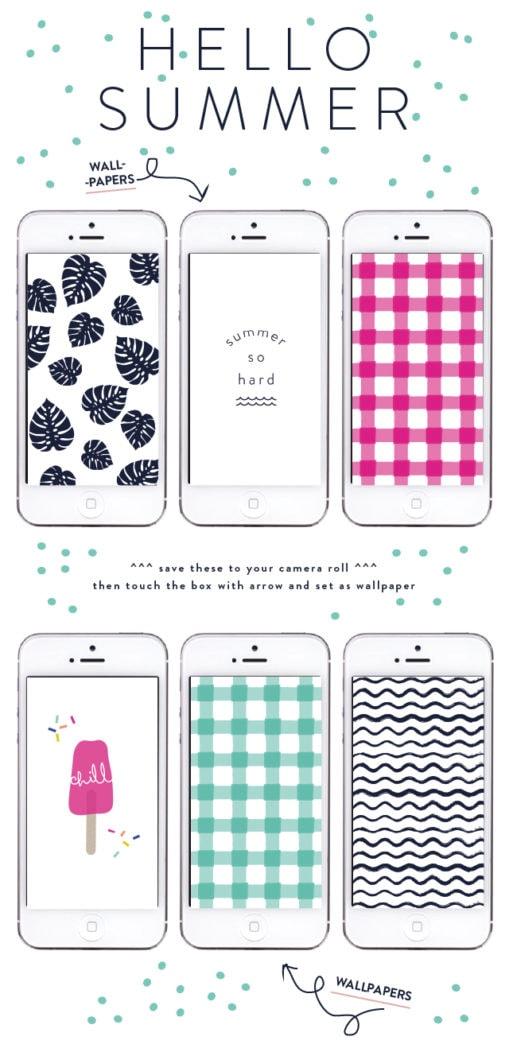 hello-summer-tech-wallpapers Summer Prints