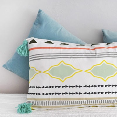 1 Lounge Tassel Pillow