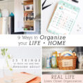1 Organizing Life and Home