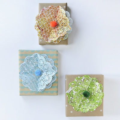 1 Paper Punch Wrapped Gifts