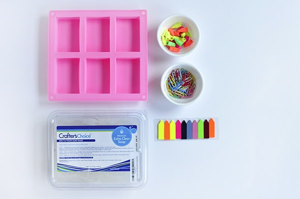 Back to School Soap supplies