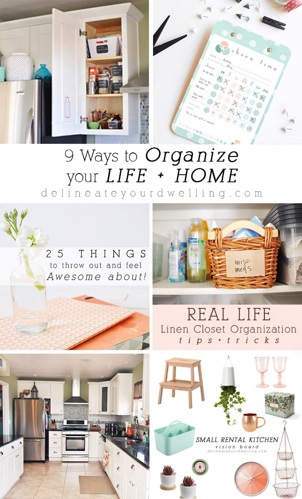 9 Ways to Organize Life and Home, Delineate Your Dwelling