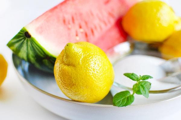 Watermelon Lemonade Ingredients