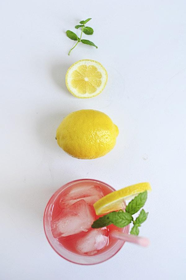 Watermelon Lemonade glass, Delineate Your Dwelling