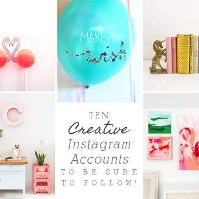 1-10 Creative Instagram Accounts to Follow