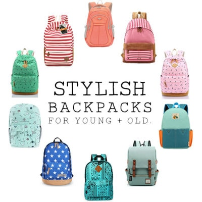 1 Stylish Back to School Backpacks