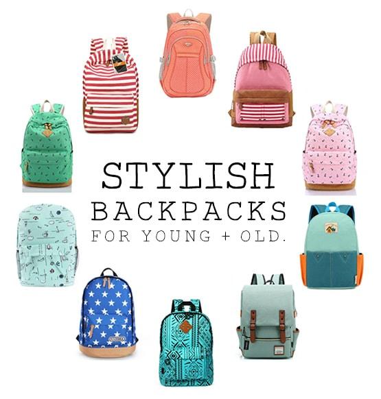 1 Stylish Back to School Backpacks