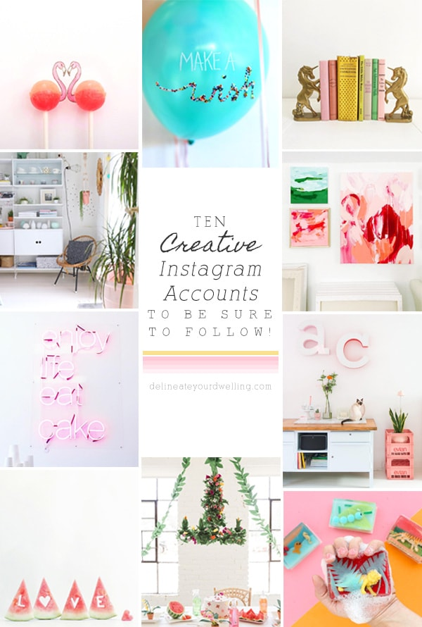 10 Creative Instagram Accounts to Follow, Delineate Your Dwelling