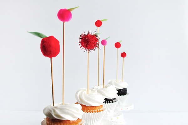 Apple Cupcake Tops