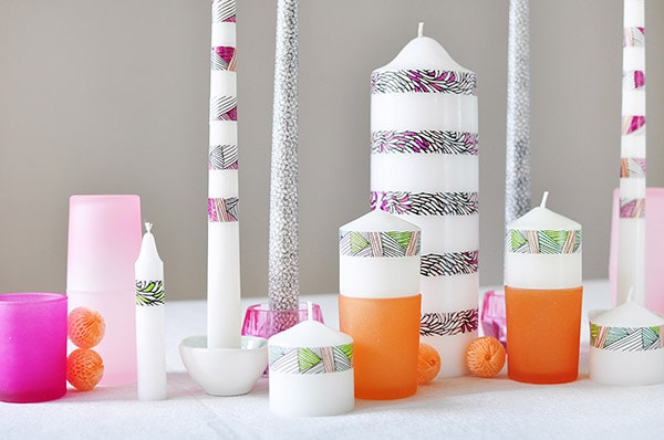 diy-colorable-washi-tape-candles