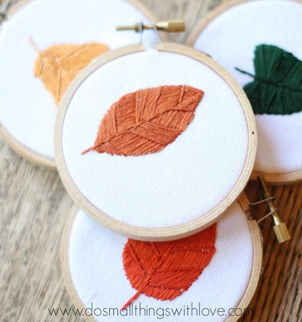 fall-leaves-embroidery-hoop-art