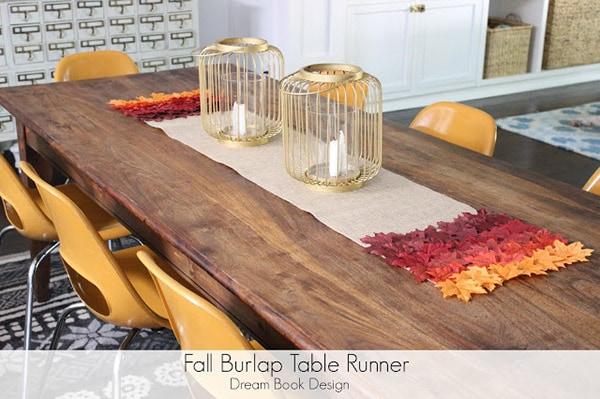 http://dreambookdesign.com/2013/09/fall-burlap-table-runner-no-sew/