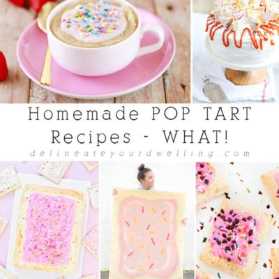 Homemade POP TART Recipes – WHAT!