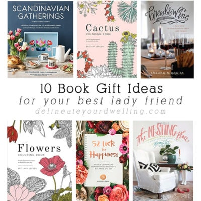 10 Book Gift Ideas for your best lady friend
