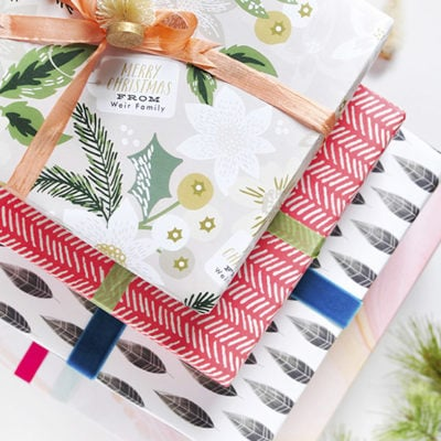 Bringing the color with Gift Wrap