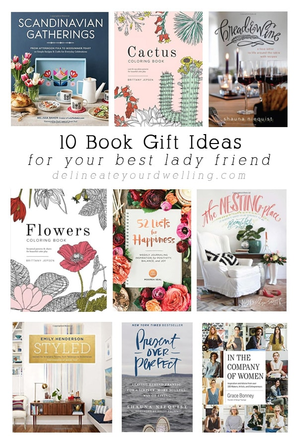 10 Book Gift Ideas for your lady friend, Delineate Your Dwelling