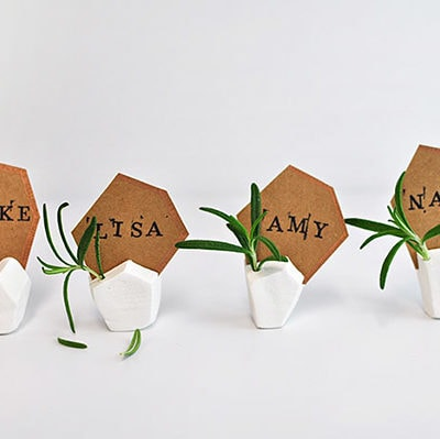 geometric-clay-placecard-holder
