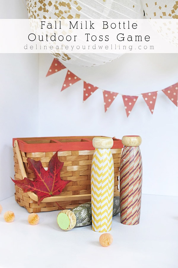 Perfect Craft, Fall Milk Toss game, Delineate Your Dwelling