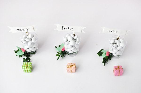 DIY Mini Place card holder 2
