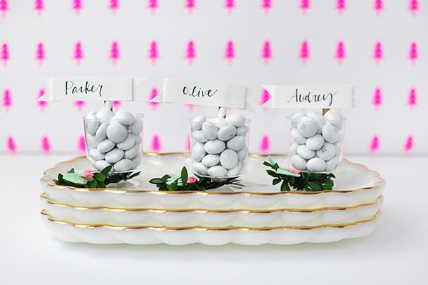 DIY Mini Place card holder, Delineate Your Dwelling