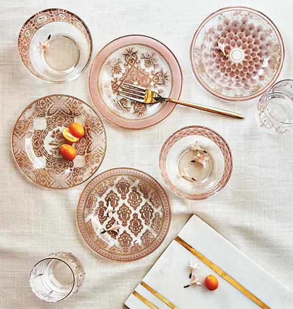 Lace Plates