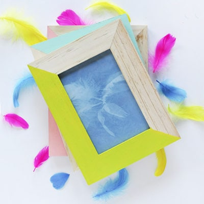 DIY Feather Artwork