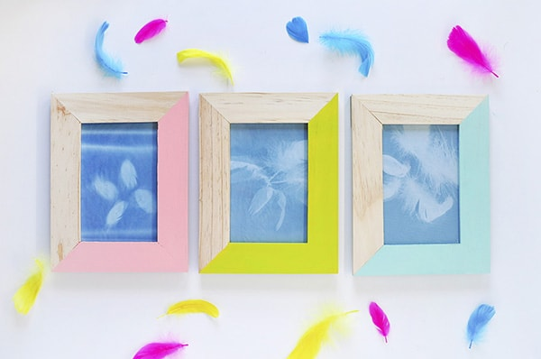 Easy DIY Feather Artwork, Delineate Your Dwelling