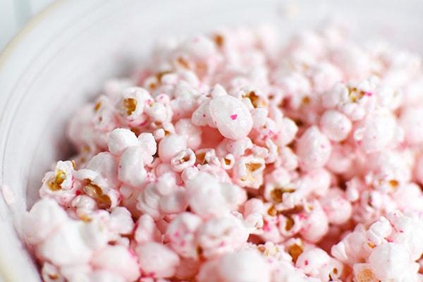 Pink Popcorn Valentine cool down