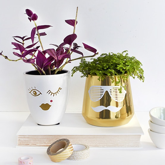 His Her Diy Face Planters Delineate Your Dwelling