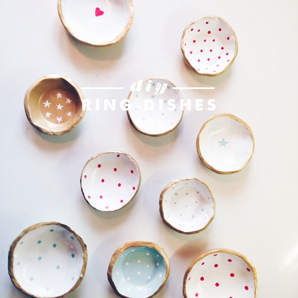 Clay Ring Dishes