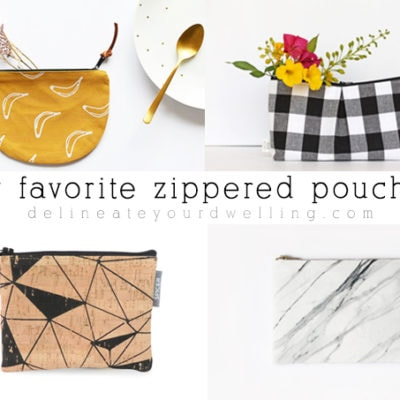 1 Favorite Zippered Pouches